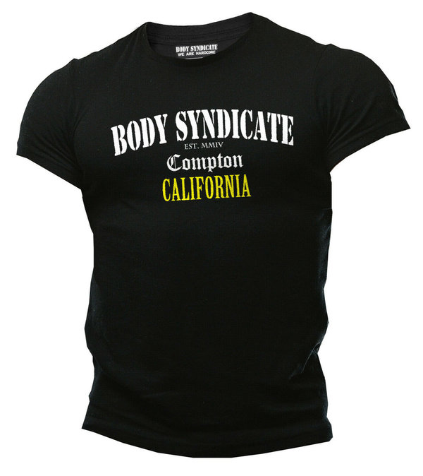 BODY SYNDICATE - Bodybuilding T-Shirt - Compton California