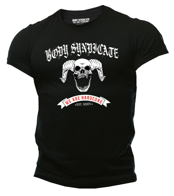 BODY SYNDICATE - Demon Skull - T-Shirt - Biker - Outlaw