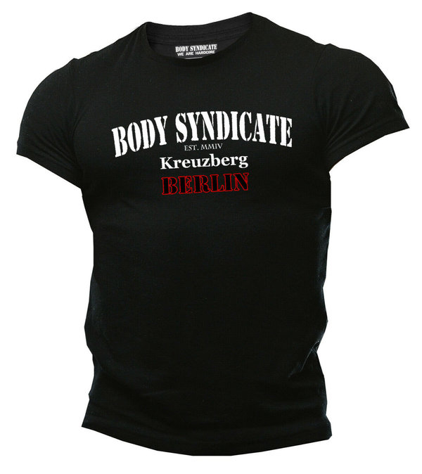 BODY SYNDICATE - Bodybuilding T-Shirt - Kreuzberg Berlin