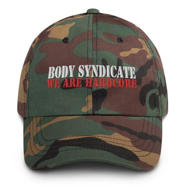 BODY SYNDICATE - Baseball Kappe - Camouflage